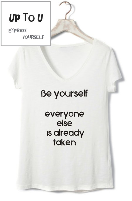 be yourself-woman